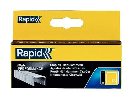 9da95ac74a Rapid 11835625 No. 13 Graffe a Filo fine 8 mm, Acciaio: Amazon.it: Fai da te