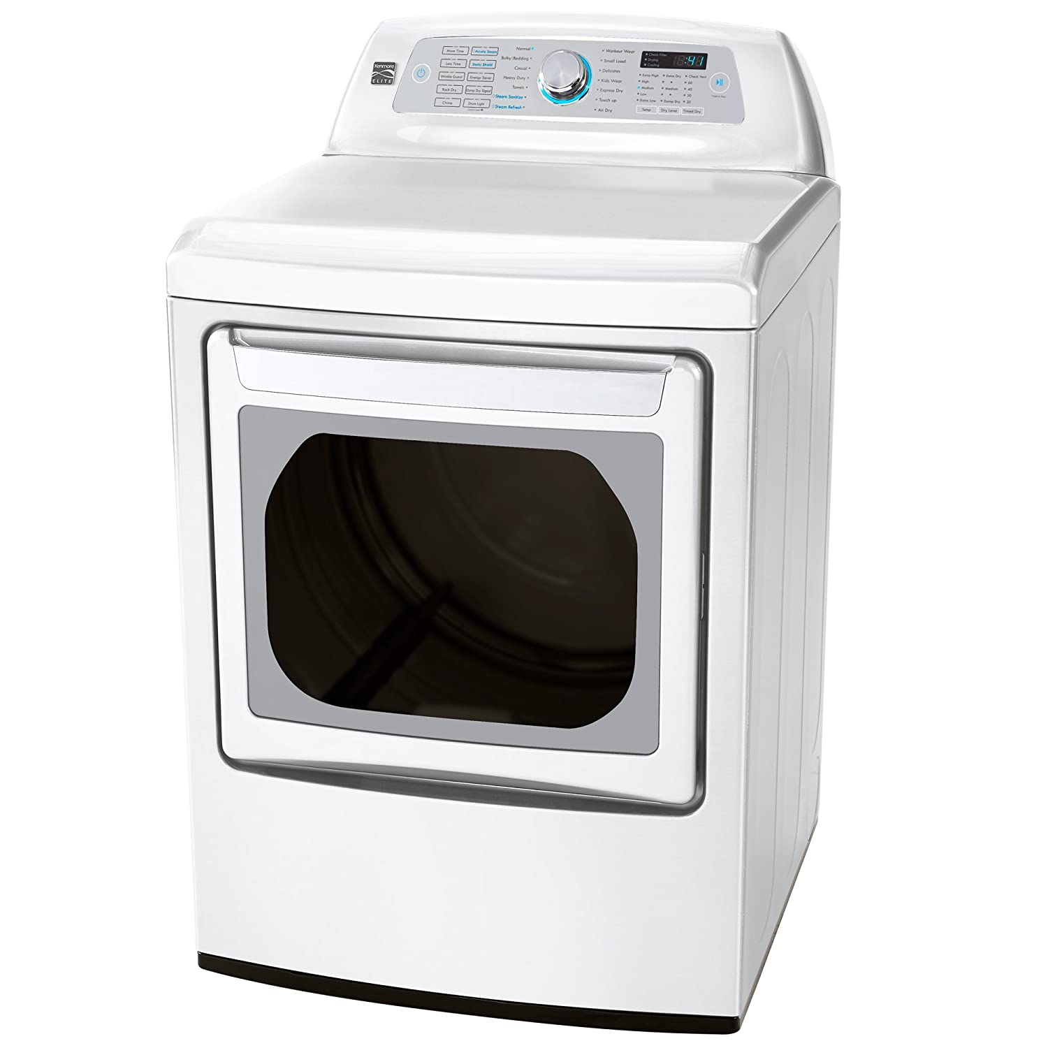 Amazon Kenmore Elite 61552 73 Cu Ft Electric Dryer In White