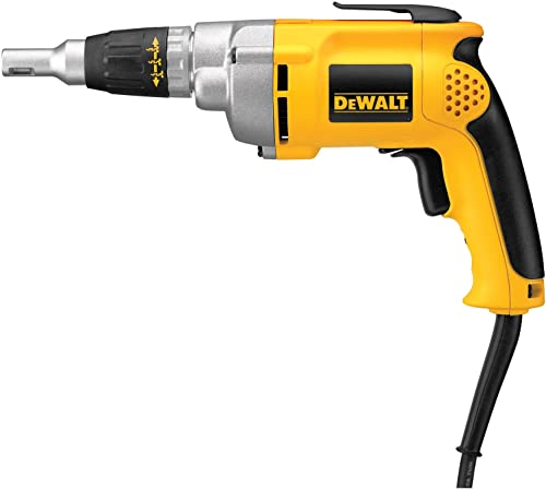 DEWALT Drywall Screw Gun, Variable Speed Reversible, 6.5-Amp DW276