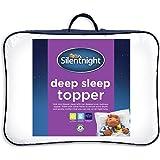 Silentnight Deep Sleep Mattress Topper, White, Single