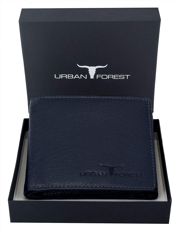 URBAN FOREST Dark Blue Men's Wallet