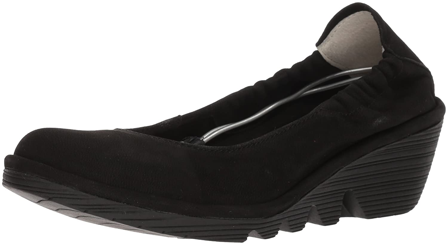 FLY London Women's PLED819FLY Pump B0752MKLSY 36 M EU (5.5 US)|Black Cupido