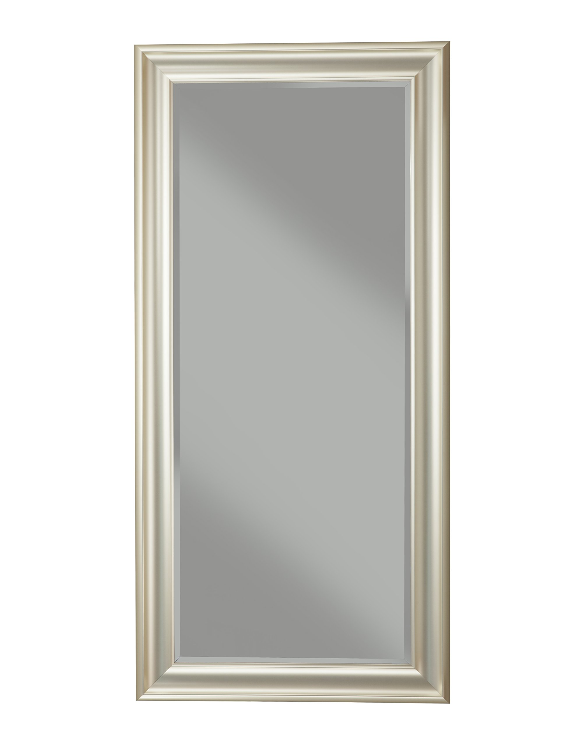 Sandberg Furniture, Full Length Leaner Mirror, Brushed Bronze