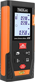 Tacklife HD40 Classic Portable Laser Measure