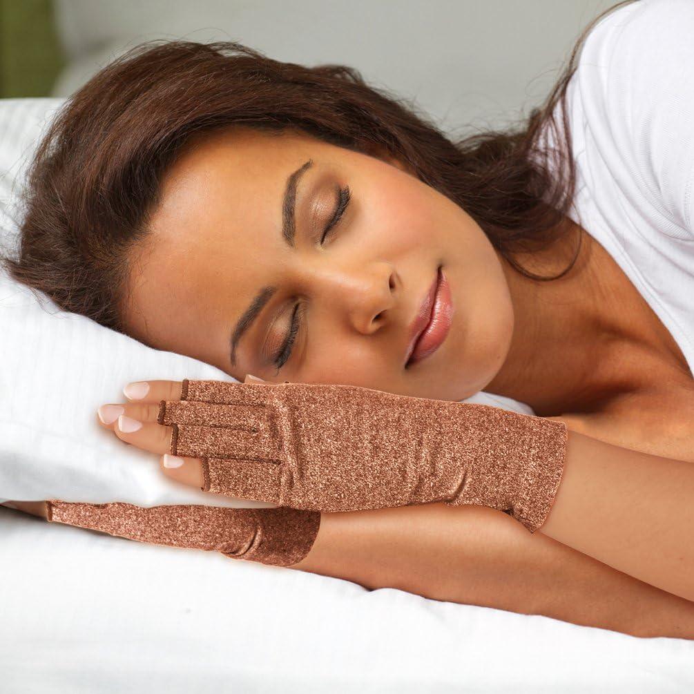 Compression Handschuhe f/¨/¹r Rheumatoide /& Osteoarthritis M?nner und Frauen Braun, S Duerer Arthritis Handschuhe Handschuhe bieten arthritische Gelenkschmerzen Linderung der Symptome