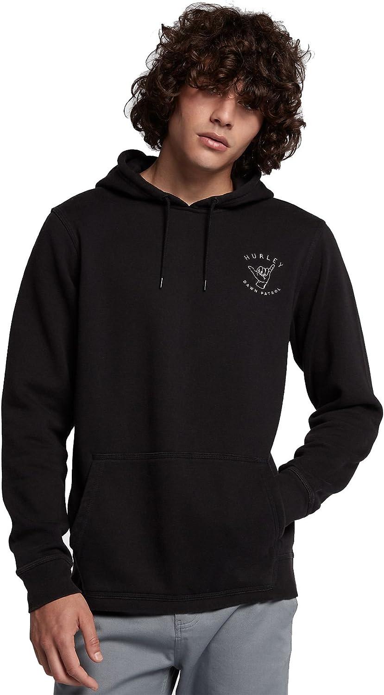 Hurley Mens MFT0008070 Beach Club Dawn Patrol Pullover Fleece Hoodie