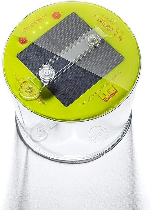 hive outdoor MPOWERD Luci Outdoor aufblasbare Solarlaterne Campinglicht Lampe