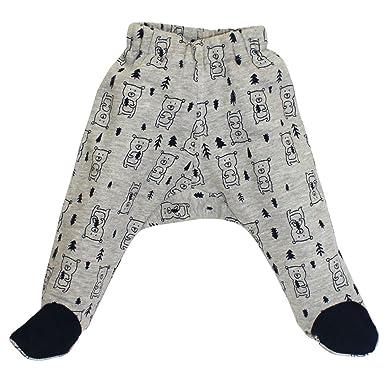 74b2da83375f9 Kadambaby - Teddy Printed Footed Baby Pants/Baby Pajama for Winter ...