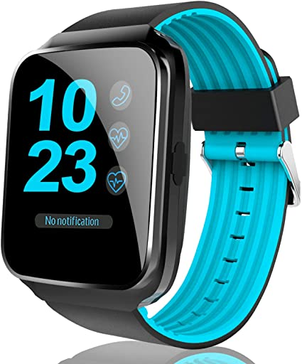 [2019 Launch] Smart Watch Phone - Fitness Tracker Smartwatch for Men Women with Heart Rate Blood Pressure Monitor, Sport Wrist Watch with Sleep ...