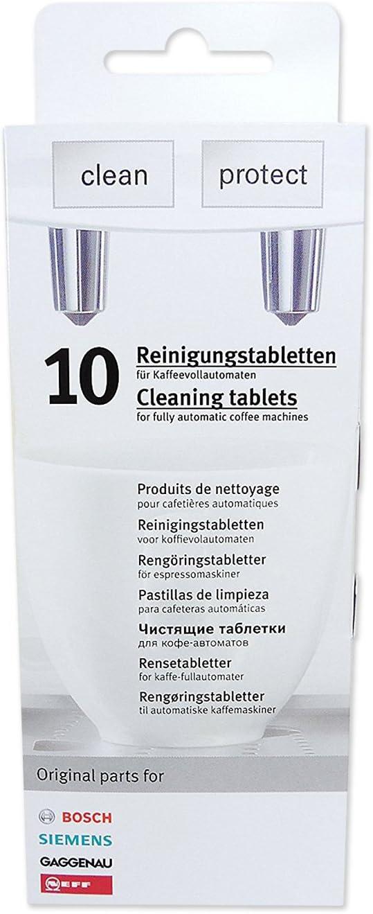 00311819 7/x 10/Bosch Siemens pastillas de limpieza /Pastillas descalcificadoras 00311769 + 7/x 3/Bosch Siemens/