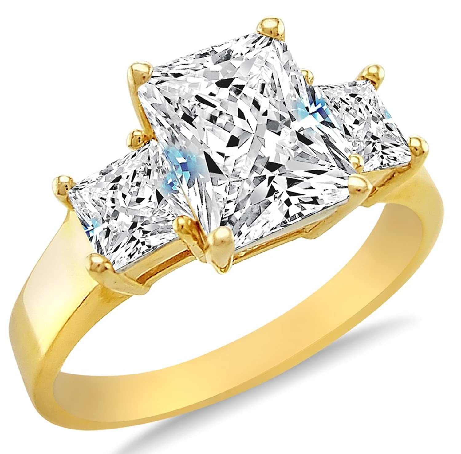styled kvca engagement fullxfull blue flower set wedding il yellow cd ring rings natural bridal sapphire gold products