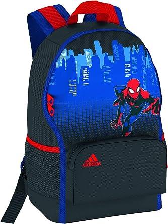 Adidas Kid s Performance Marvel Spiderman Backpack - Blue 79b2b21c3cddf