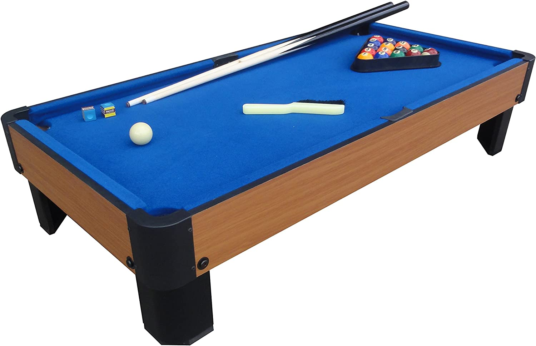 PLAYCRAFT deporte banco Shot – Mesa de billar - PSPT4001B, Azul: Amazon.es: Deportes y aire libre