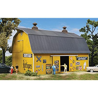 Walthers Cornerstone HO Scale Antiques Barn Kit: Toys & Games