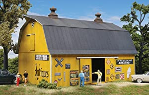 Walthers Cornerstone Antiques Barn Kit