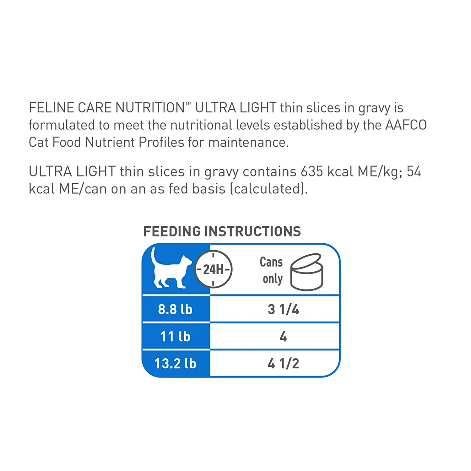 Amazon.com : Royal Canin Feline Health Nutrition Ultra Light 15% Fewer Calories Thin Slices in Gravy Canned Cat Food, 3 Ounce Can (Pack of 6) : Pet Supplies