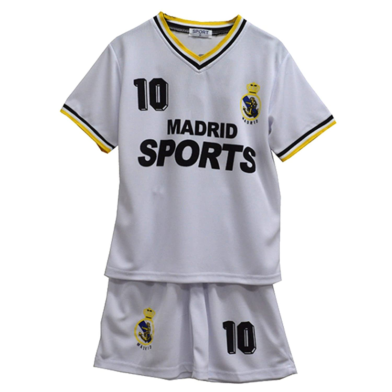 Default Football Summer Shorts Boys New Girls Top Vest Kit Set Size Age 2-12 Years BNWT