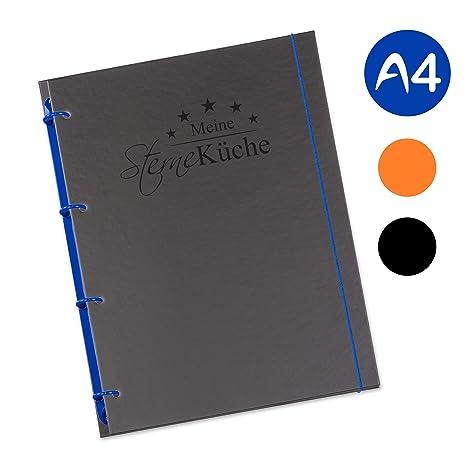 Libro de cocina Schaar-Design de Flexinotes® en tamaño A4 para escribir (idioma