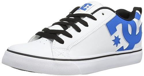 DC Court Vulc M Shoe KTK Court Vulc-M - Zapatillas de Cuero para Hombre, Color Blanco, Talla 42.5: Amazon.es: Zapatos y complementos