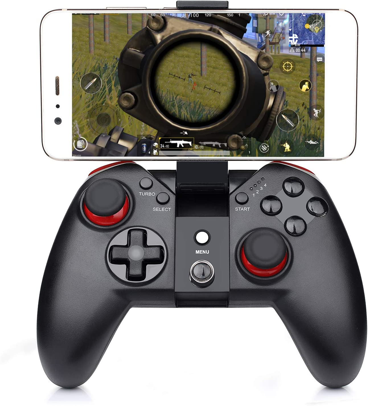 Momen Mobile Gaming Controller Wireless Gamepad Joystick for Android Smartphone Windows PC PS3 VR TV Box