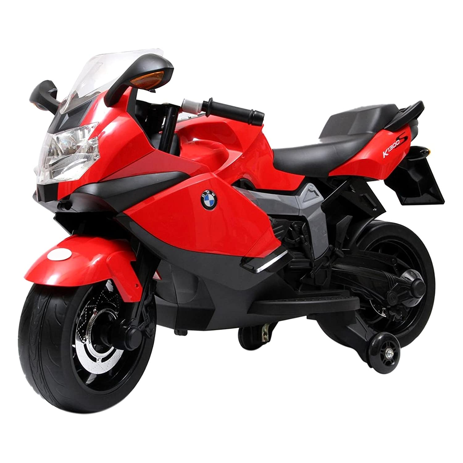 BMW (Licensed) Children's Speed Bike, Battery Operated, RED
