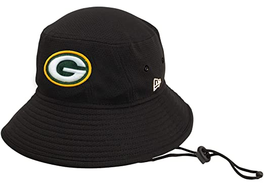 786ad805 New Era 100% Authentic, NWT, Green Bay Packers Bucket Hat Black