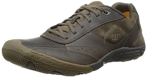 Caterpillar Yama - Zapatillas de deporte de cuero para hombre marrón Marron (Muddy) 40: Amazon.es: Zapatos y complementos