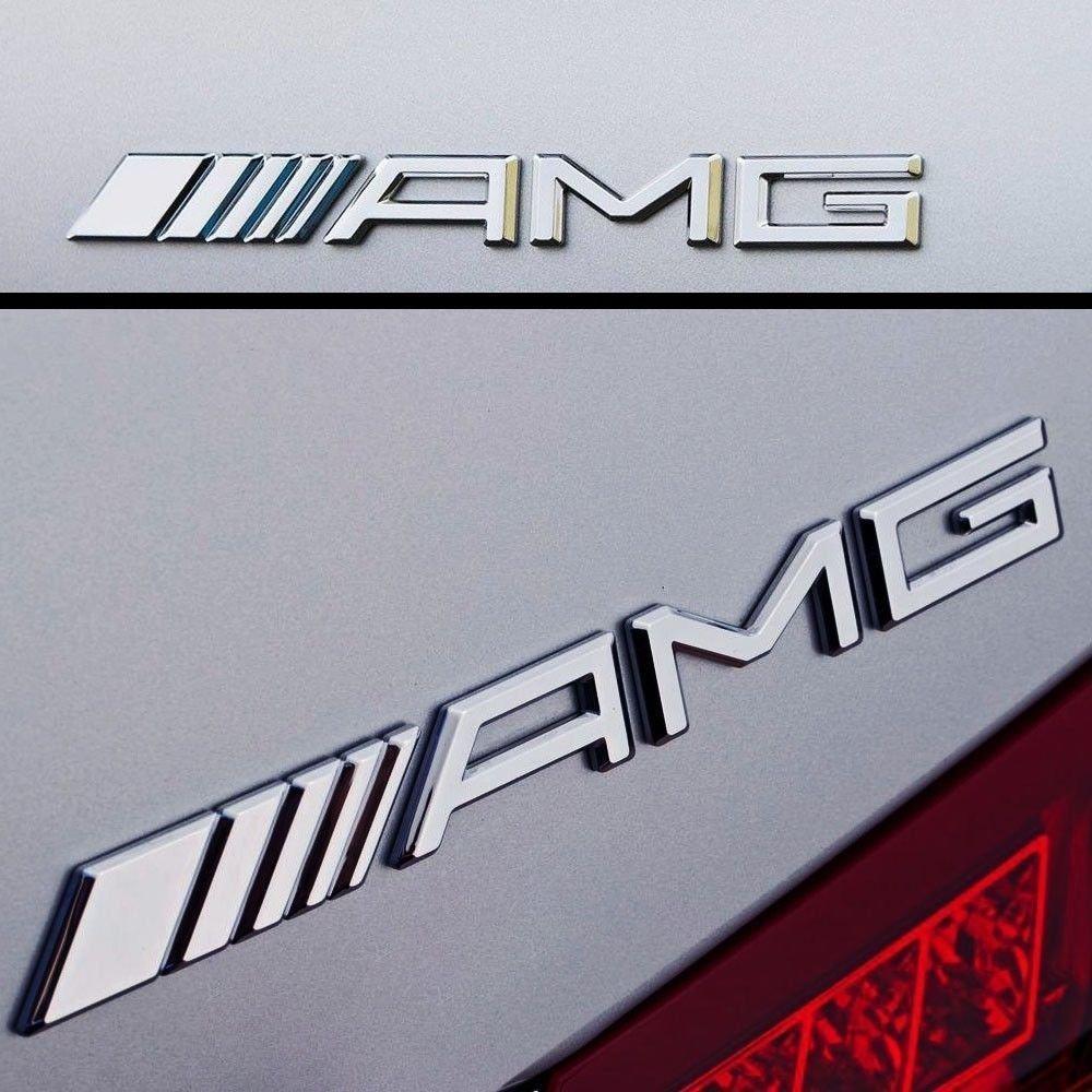 Logo AMG pour coffre - compatible avec tous les modè les USL
