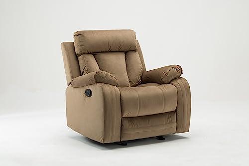 Best living room chair: Blackjack Furniture 9760 Elton Collection Microfiber Reclining Modern Living Room