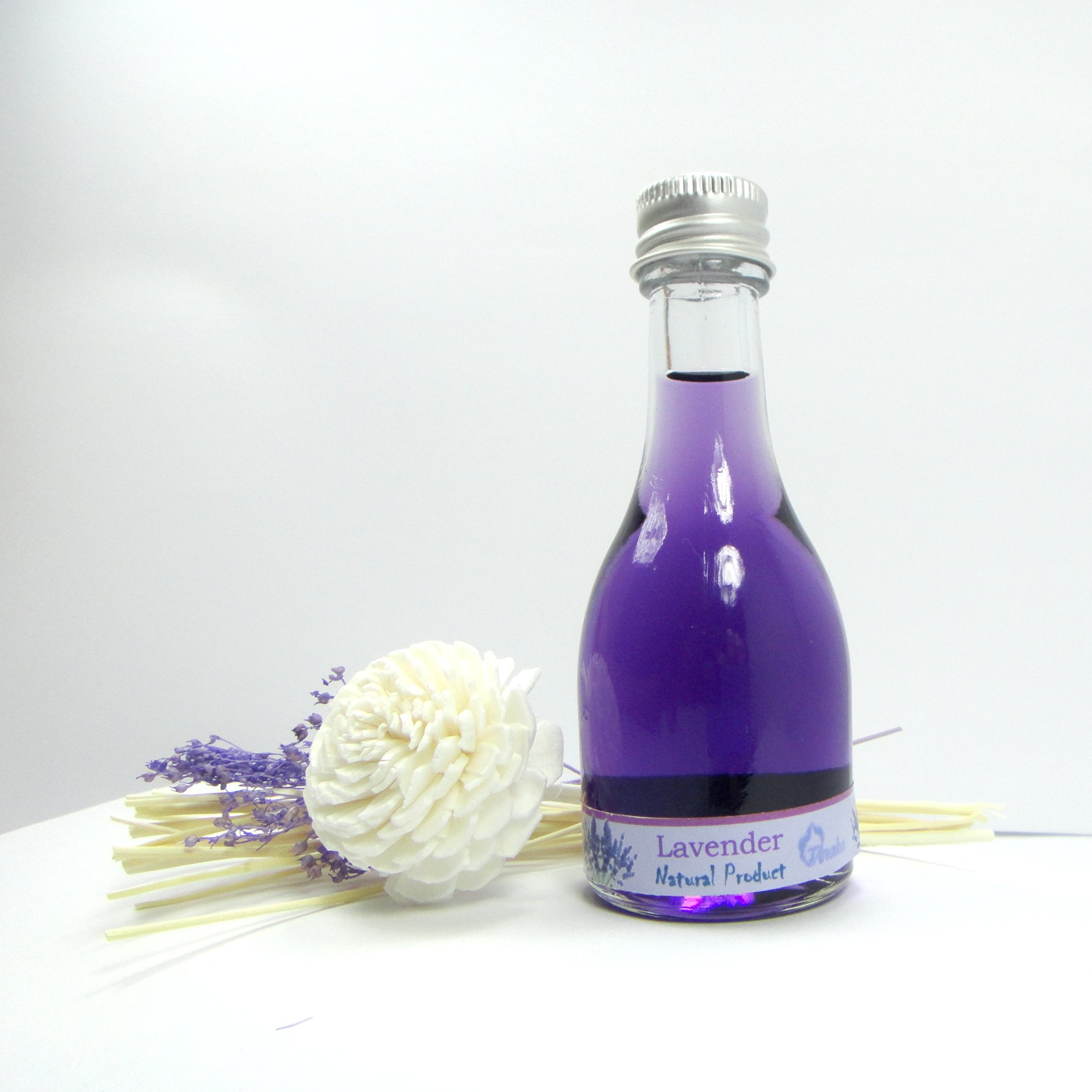 Lavender Reed Diffuser Fragrance Essential Oil Reed Diffuser 30ml./1 Oz