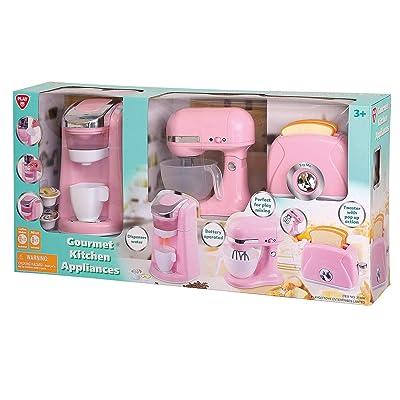 Evaxo Gourmet Kitchen Appliances Pink: Toys & Games