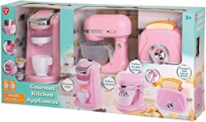 Evaxo Gourmet Kitchen Appliances Pink