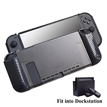Amazon.com: Hikfly - Carcasa para Nintendo Switch 3 en 1 ...