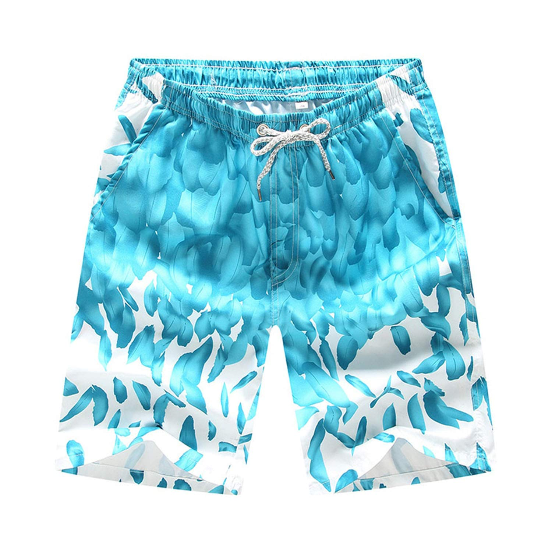 Men Women Beach Shorts Boating Water Sports Trunks Swimming Surfing Beach Board Pants Swimwear