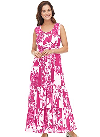 100% Cotton Maxi Dress at Amazon Women&-39-s Clothing store: