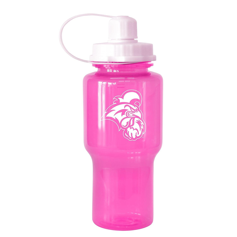 NCAA Coastal Carolina Chanticleers Tritan Travel Mate Pink Water Bottle 24-Ounce Boelter Brands 282437