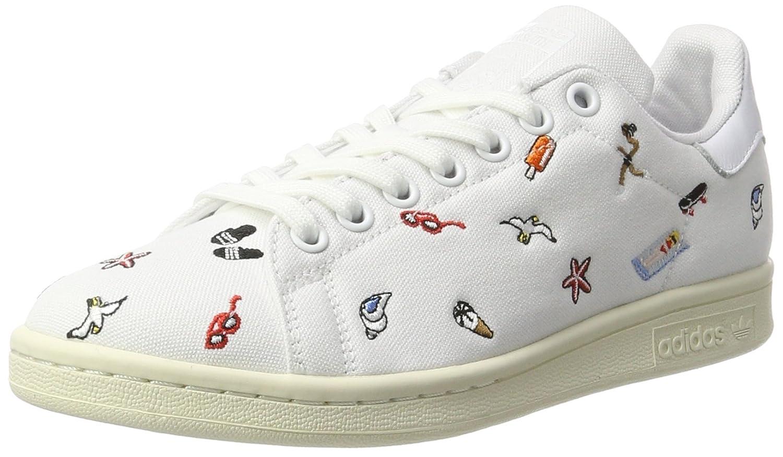 adidas Stan Smith, Zapatillas Para Mujer 40 2/3 EU|Blanco (Footwear White/Footwear White/Off White)