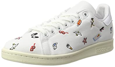 97aab140b9458e adidas Stan Smith, Baskets Femme, Blanc Footwear Off White, 40 2/3 ...