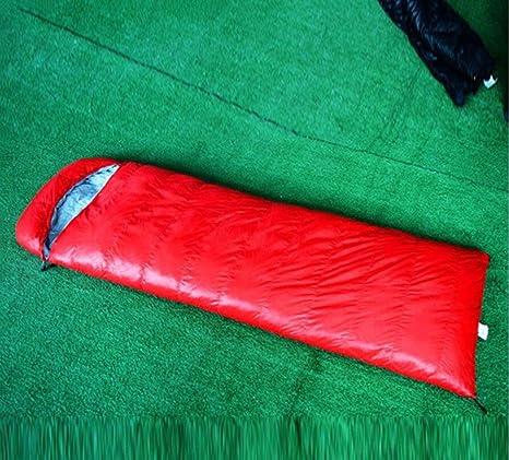 busl Saco de dormir camping se puede cosido Plumón de pato blancas Adulto Saco de dormir