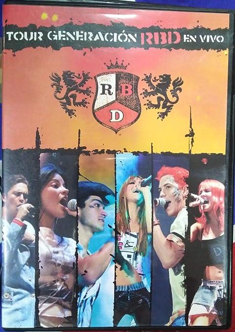 Tour Generacion Rbd en Vivo [d [DVD]: Amazon.es: Rbd: Cine y Series TV
