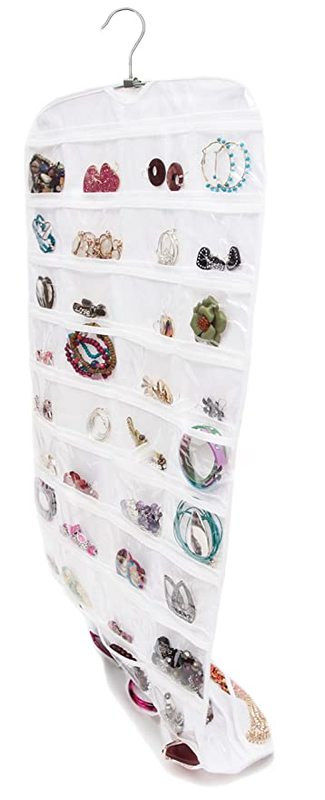 Buy Closet Complete Ultra 80 Pocket Hanging Jewelry Organizer Online