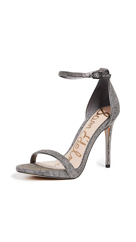 Silver gold Sam Edelman Womens Ariella Heeled Sandal