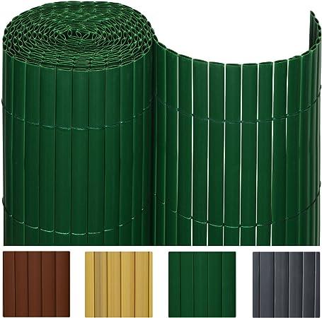 Sol Royal - SolVision Protección Visual de PVC barandillas cercas Vallas de jardín o terraza - 80x300 cm - Verde: Amazon.es: Hogar