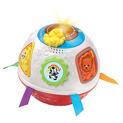 VTech Light and Move Learning Ball, Red: Toys & Games