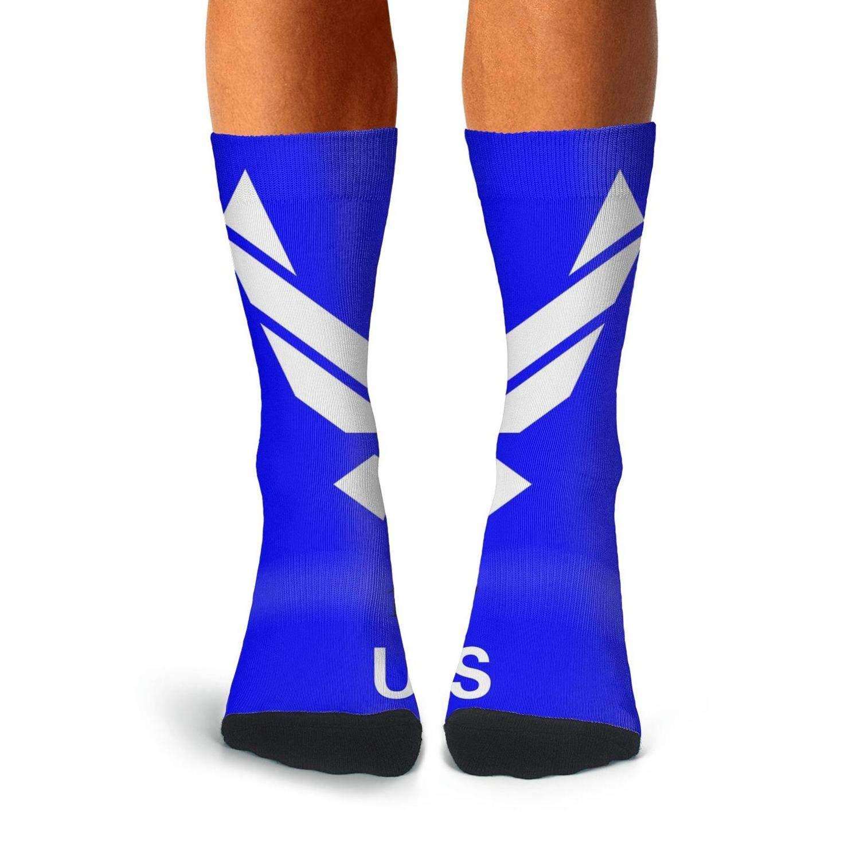 KCOSSH us air force Funny Crew Sock Casual Calf Socks for Men