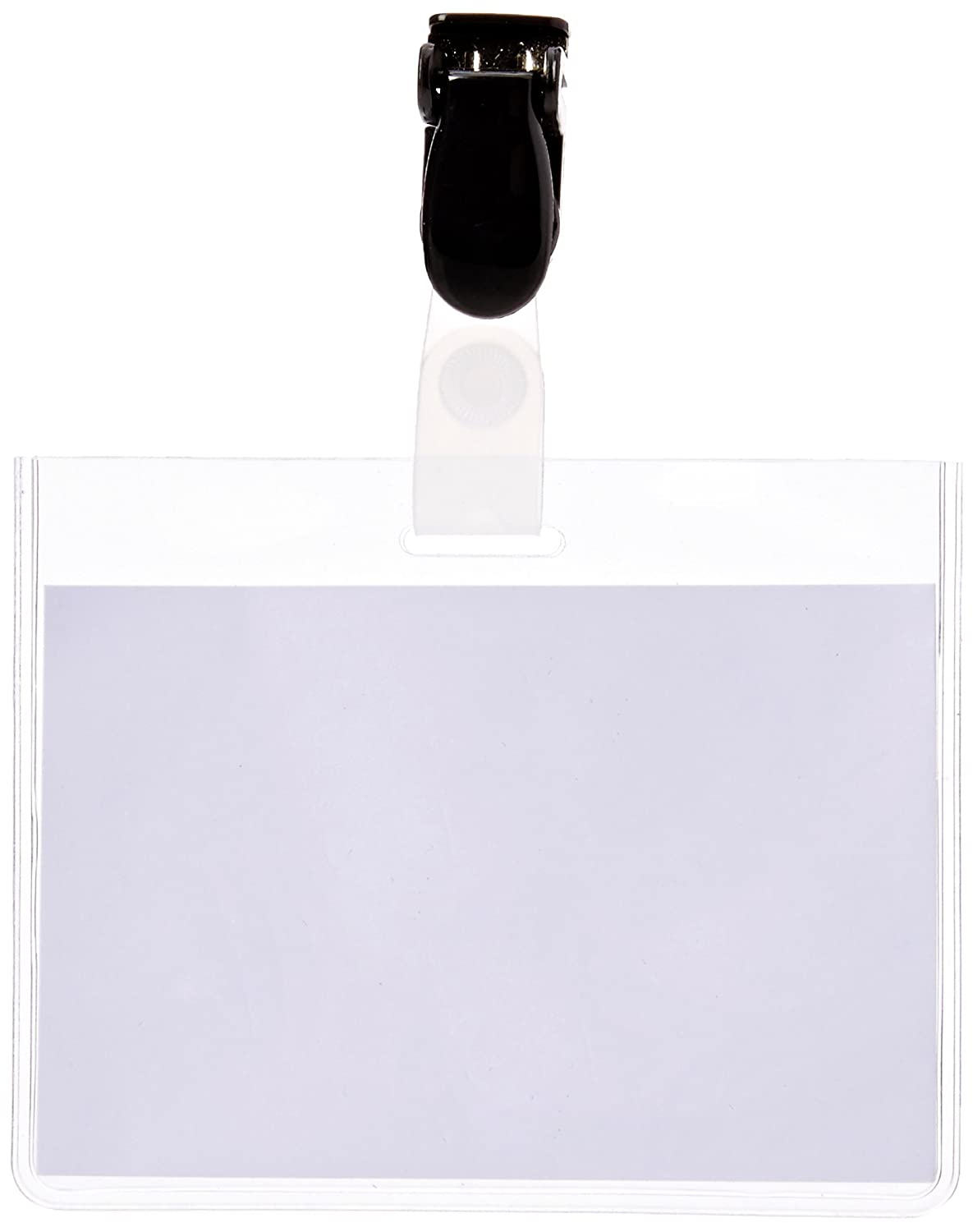 Pack of 25 Announce 60 x 90 mm Security Name Badge