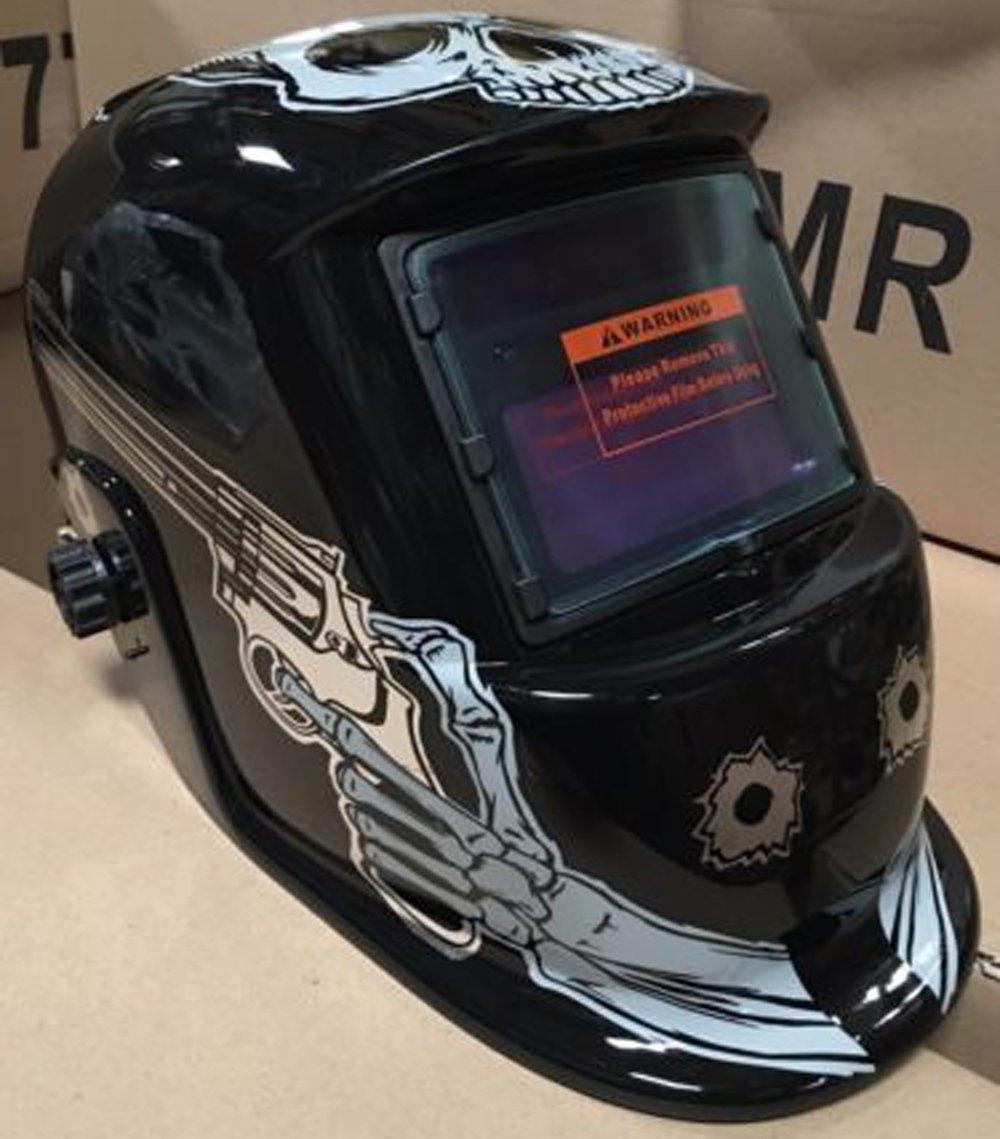 USA seller: TTT Auto Darkening Solar Powered Welders Welding Helmet Mask With Grinding Function by prolineprol