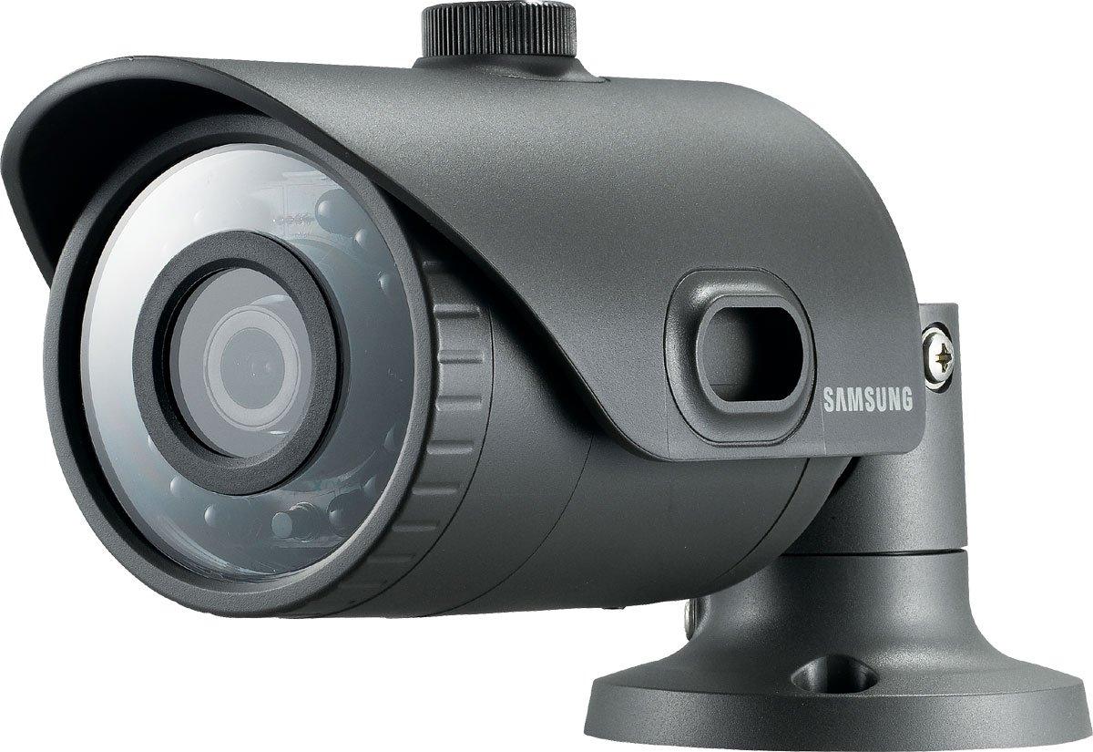 Samsung SNO-L6013R Cámara de seguridad IP Interior y exterior Bala Gris 1920 x 1080Pixeles - Cámara de vigilancia (Cámara de seguridad IP, ...