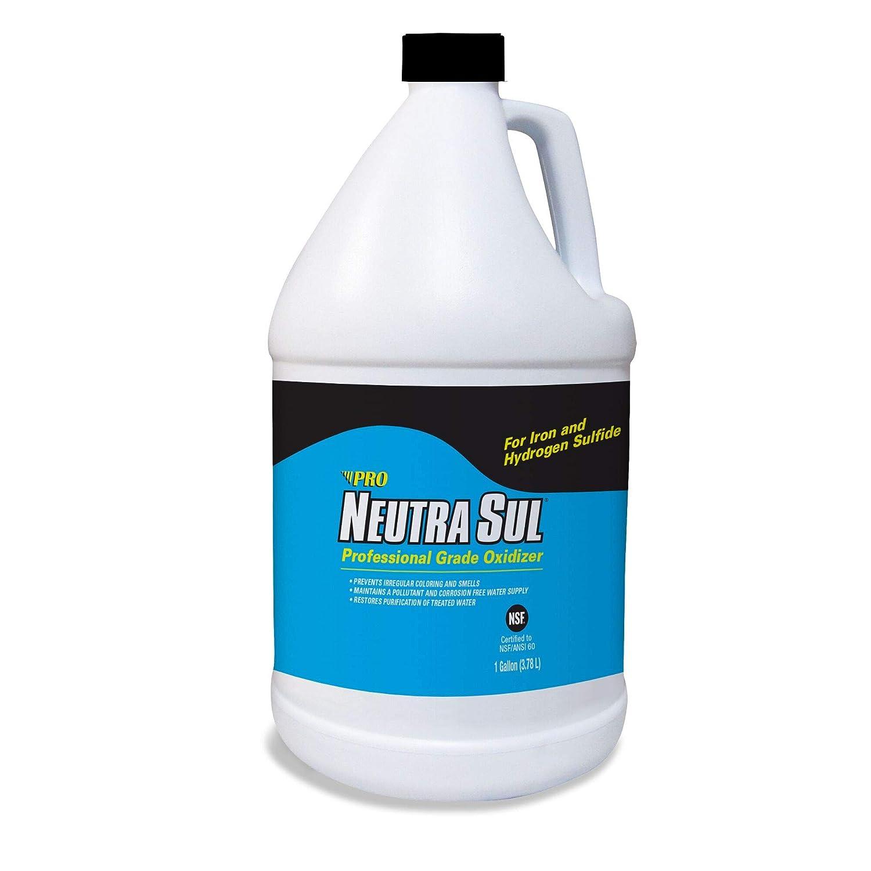 Neutra Sul HP41N Professional Grade Oxidizer, Neutralize Rotten Egg Smells and Pollutants, 1 Gallon