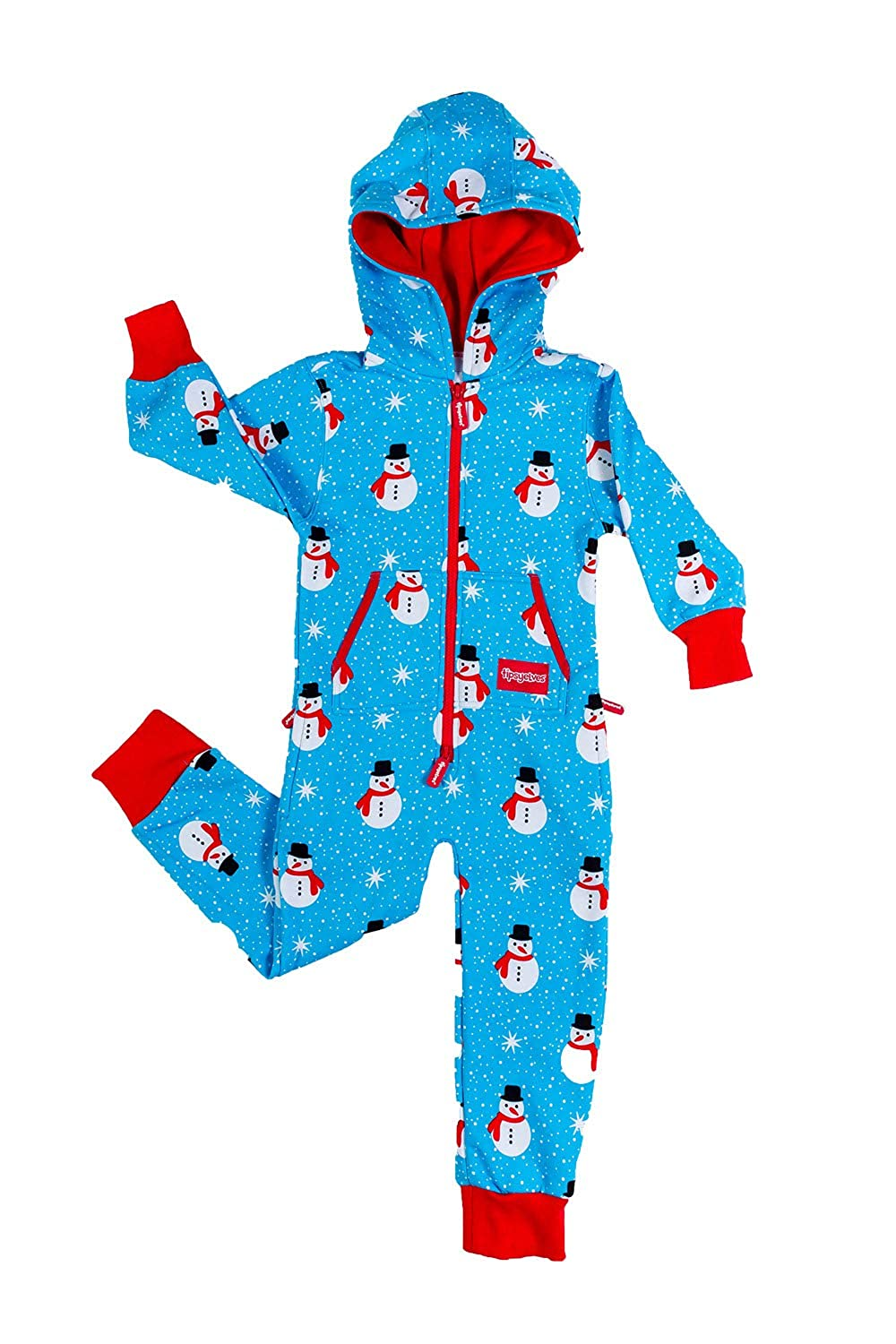 Youth Snowman is an Island Christmas Pajamas Cute Xmas PJs for Kids